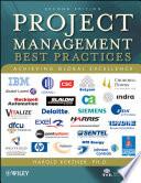 Project Management Best Practices Book PDF