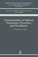 FUNDAMENTALS OF OPTICAL PARAMET PRO