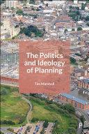 The Politics and Ideology of Planning Pdf/ePub eBook