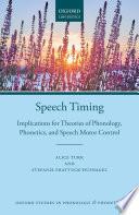 Speech Timing