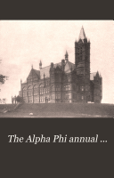 Pdf The Alpha Phi Quarterly ...