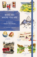 Make Art Where You Are  Guided Sketchbook