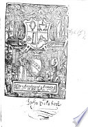 The Accedens of Armory  With an address to the Reader by R  Argoll  Woodcuts  MS  notes
