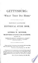 Gettysburg   what They Did Here  Book PDF