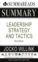 Summary of Leadership Strategy and Tactics