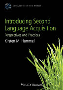 Cover of Introducing Second Language Acquisition