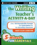 The Writing Teacher s Activity a Day