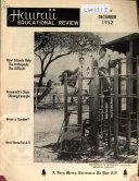 Hawaii Educational Review