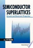 Semiconductor Superlattices