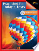 TIME For Kids: Practicing for Today's Tests Mathematics Level 5
