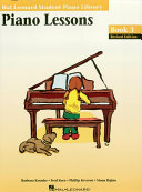Piano Lessons Book 3 Edition (Music Instruction)