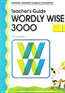 WORDLY WISE 3000 BOOK  1  TEACHER S GUIDE  Wordly Wise 3000           Book