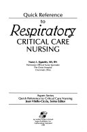 Quick Reference to Respiratory Critical Care Nursing