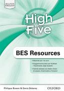 High Five. BES Resouces. Per la Scuola Media
