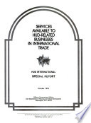 Services Available To Hud Related Businesses In International Trade