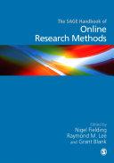 The SAGE Handbook of Online Research Methods