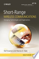 Short Range Wireless Communications