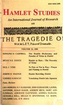 Hamlet Studies