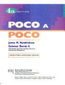 Poco a Poco 4e Instructor Annotated Edit