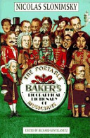 The Portable Baker S Biographical Dictionary Of Musicians