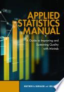Applied Statistics Manual