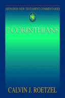 Pdf Abingdon New Testament Commentaries: 2 Corinthians