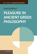 Pleasure in Ancient Greek Philosophy