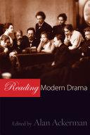 Reading Modern Drama