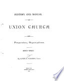 History and Manual of Union Church