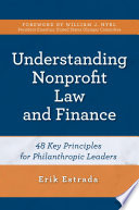 Understanding Nonprofit Law and Finance Book PDF
