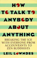 How To Talk To Anybody About Anything Book PDF