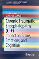 Chronic Traumatic Encephalopathy  CTE  Book