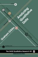 Analysing Qualitative Data
