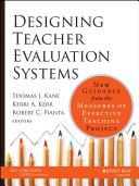 Designing Teacher Evaluation Systems