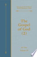 The Gospel of God  2