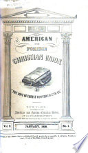 Annual Report Of The American And Foreign Christian Union