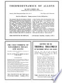 Bulletin of the Institute of Metals