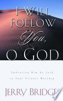 I Will Follow You  O God Book