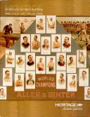 Heritage Auctions Sport Collectibles Auction Catalog #717, Dallas, TX