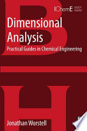 Dimensional Analysis Book PDF