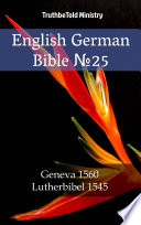 English German Bible No25