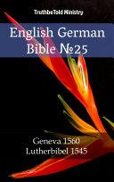 English German Bible No25