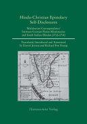Hindu-Christian, Indo-German Self-Disclosures
