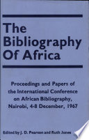 The Bibliography Of Africa