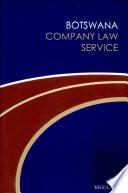 Botswana Company Law Service