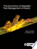 The Economics Of Integrated Pest Management Of Insects Book PDF