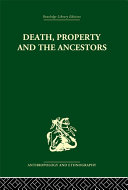 Death and the Ancestors [Pdf/ePub] eBook