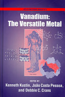 Vanadium  The Versatile Metal Book