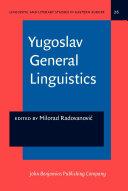 Yugoslav General Linguistics