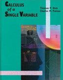 Calculus Of A Single Variable [Pdf/ePub] eBook